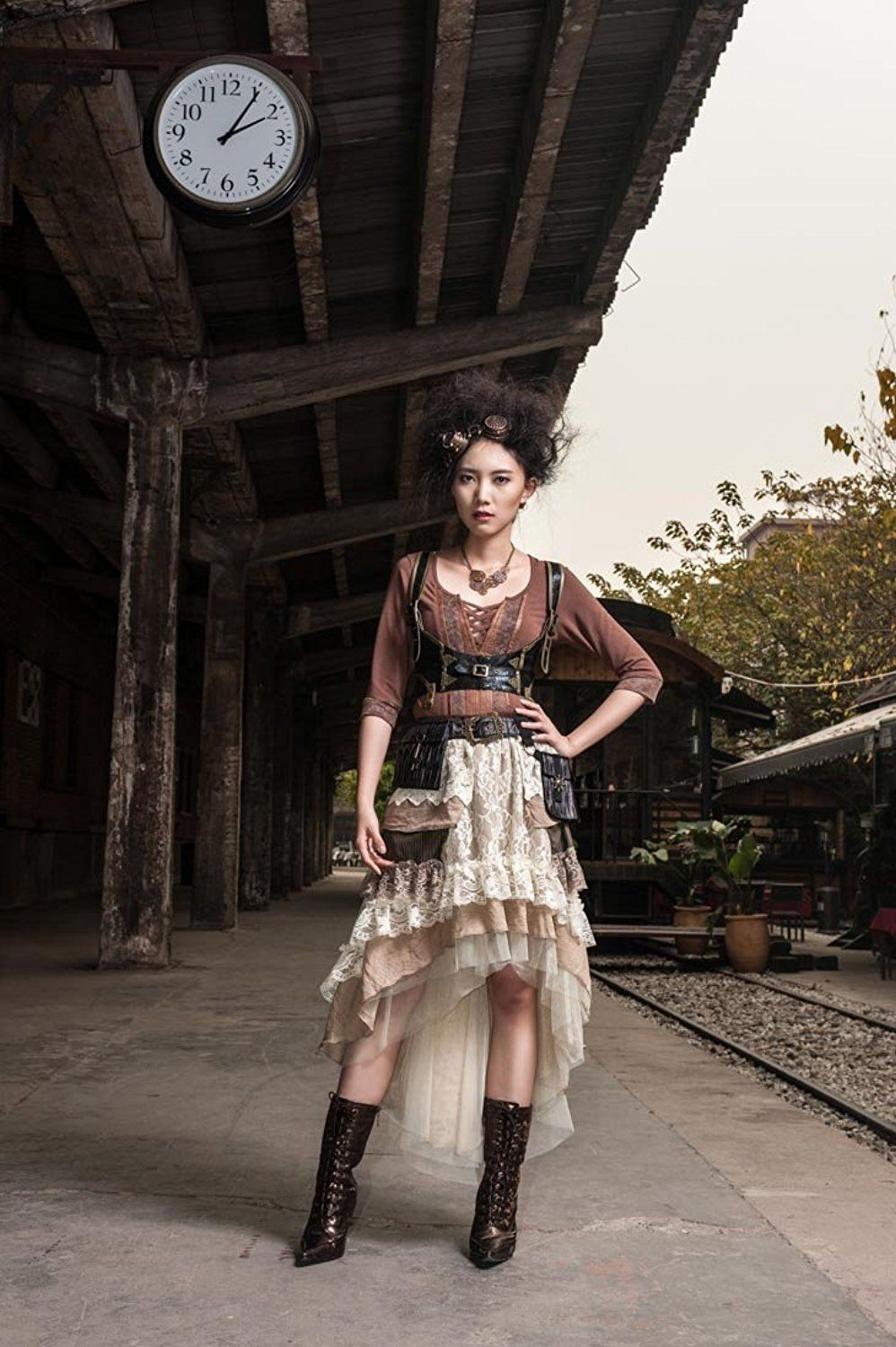Steampunk wedding dresses  Steampunk Victorian Gothic Sexy Prom Dresses Homecoming Dresses