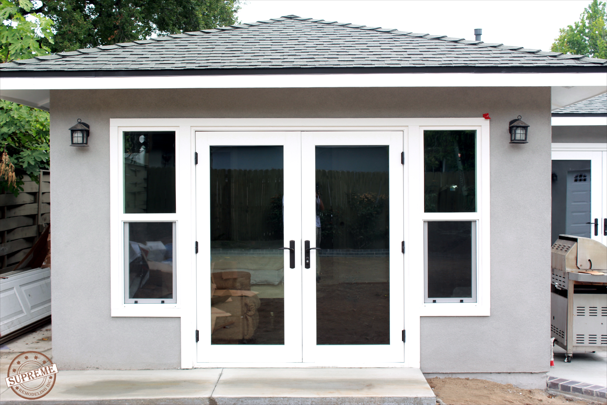 Home remodeling and addition by Supreme Remodeling Pasadena, CA 2015   Pool house cabana, House ...