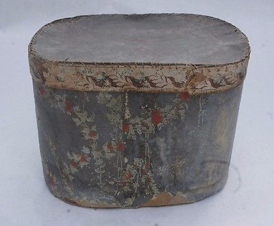 Antique 19th C. Wallpaper Box