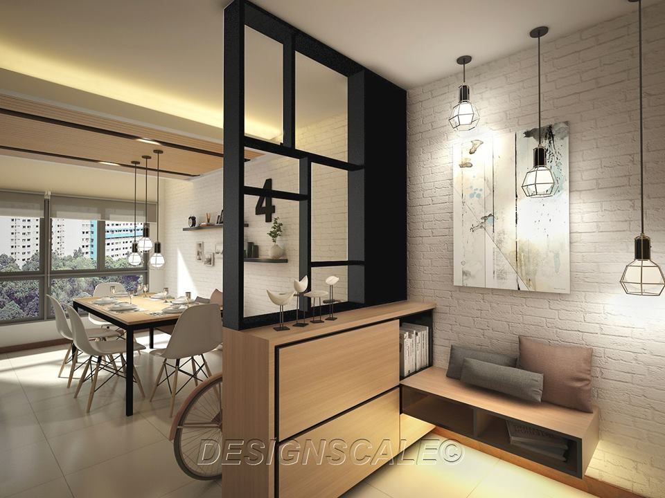 Wonderful HDB 4 Room BTO Tiffany Theme @ Blk 453C Fernvale Flora   Interior Design  Singapore | Ideas For The House | Pinterest | Tiffany Theme, Interiors And  Room Part 25