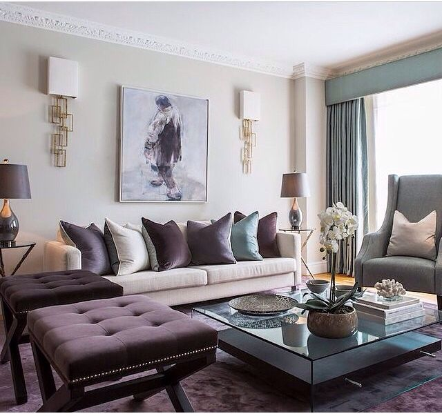 Room Reveal Purple And Grey Living Room: Turquoise Room Decorations, Colors Of Nature & Aqua