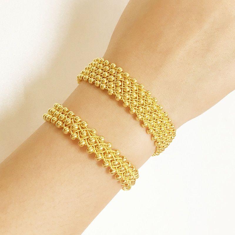 24k Pure Gold Bracelet Real 999 Solid