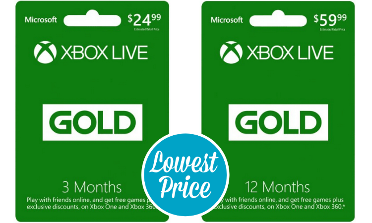 Best Xbox LIVE 12 Month Gold Membership Card 2016 Review | Xbox Game ...