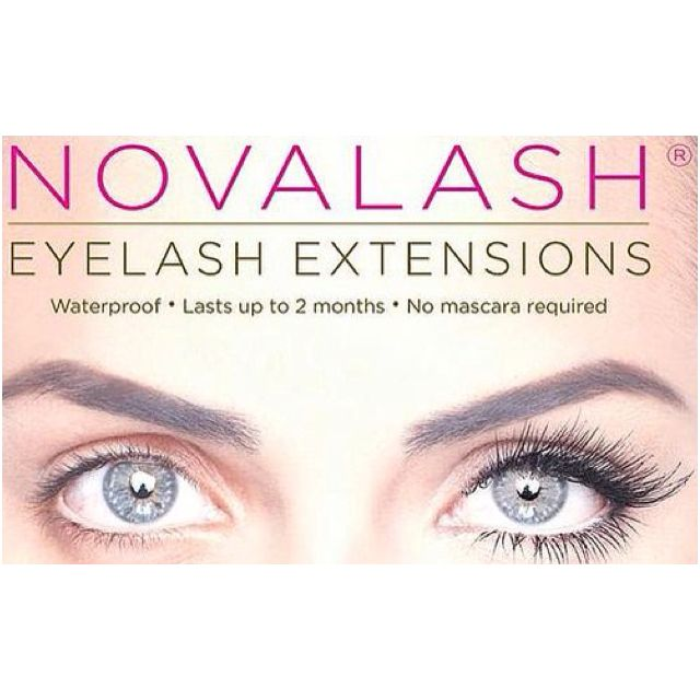 Novalash Eyelash Extensions Call Today Certified Nova Lash