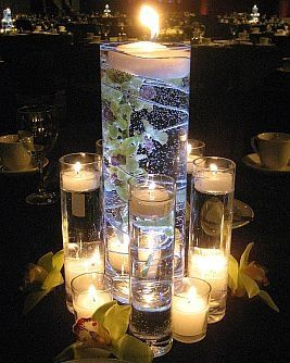 Pin By Michelle Linden On Wedding Ideas Lighted Centerpieces Wedding Centerpieces Bottle Centerpieces