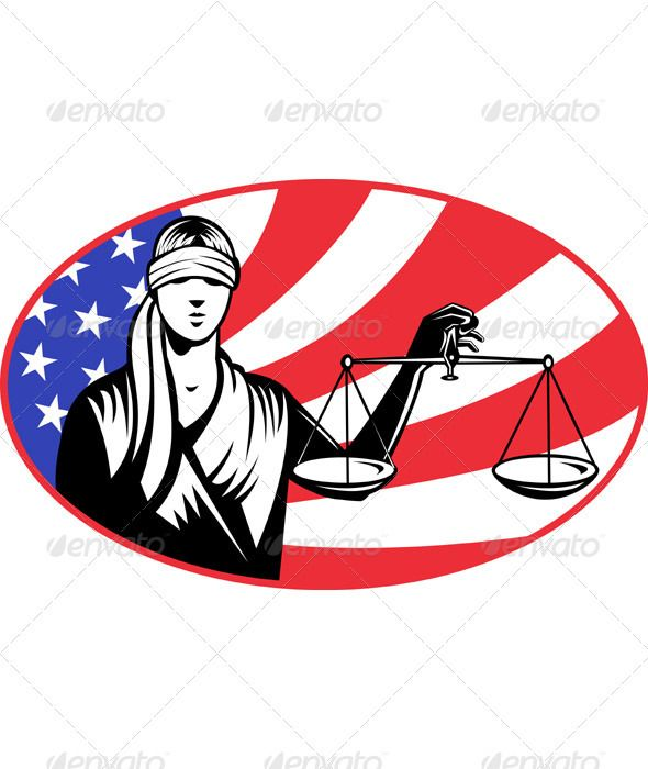 lady carrying scales of justice with american flag font logo rh pinterest com au American Flag Border Clip Art American Flag Background Clip Art