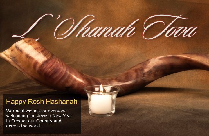 Happy Rosh Hashanah Warmest Wishes For Everyone Welcoming The Jewish New Year In Fresno