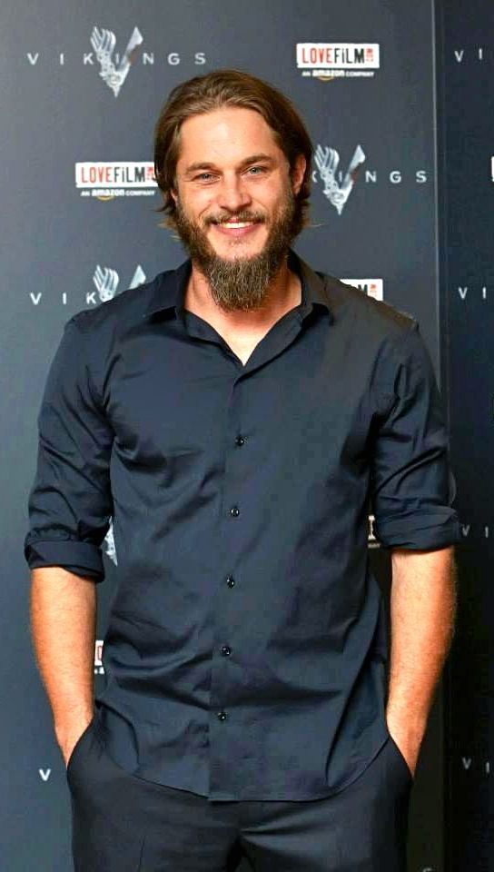 Travis Fimmel. Oh if i could marry him! Im so glad his  parents mated! They made such a BEAUTIFUL person!