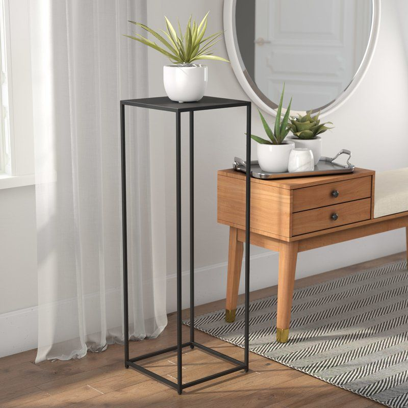 5e2e0d7a13ea Shawn Pedestal Plant Stand   Living Room in 2019   Pedestal ...