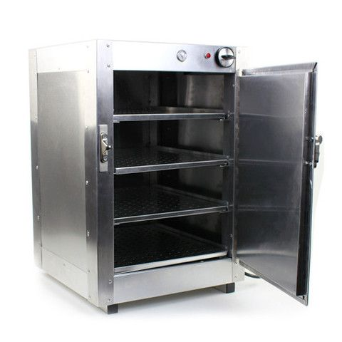 Food Warmer. Commercial Food Pastry Warming Case Aluminum 16 x 16 ...