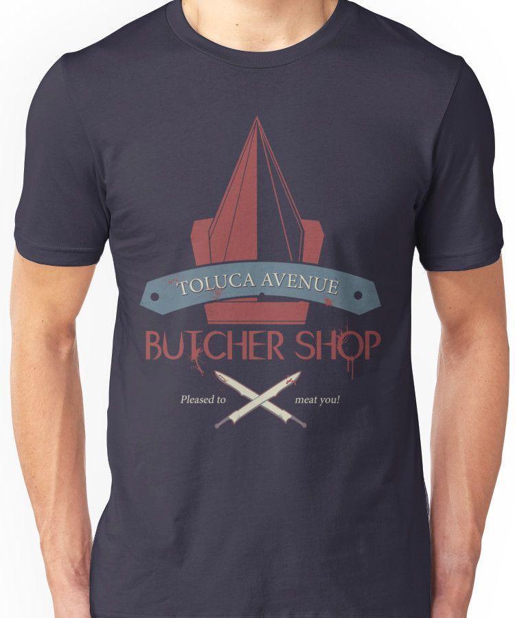 The Silent Butcher Unisex T-Shirt