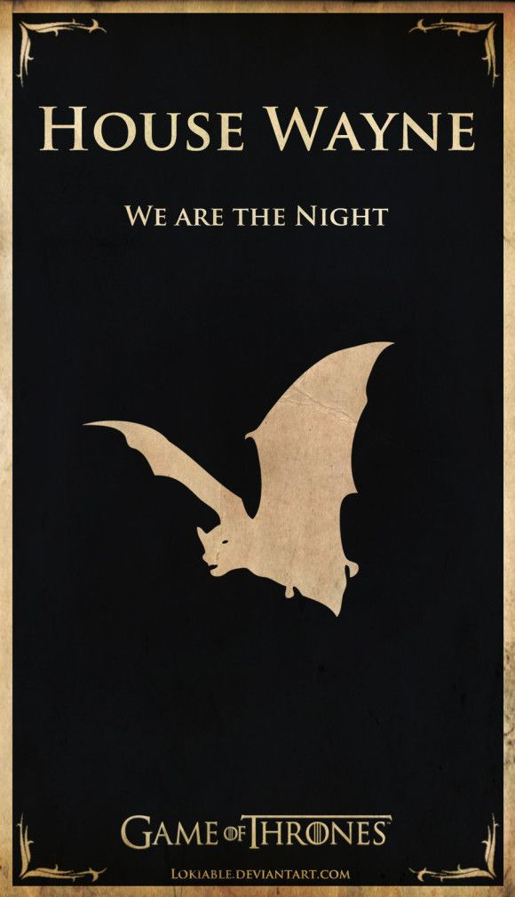 Click for more alternate Game of Thrones house sigils.
