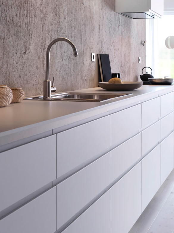 Top 3 European Kitchen Design Features To Love In Ikea 39 S Sektion Integrated Handles Metod