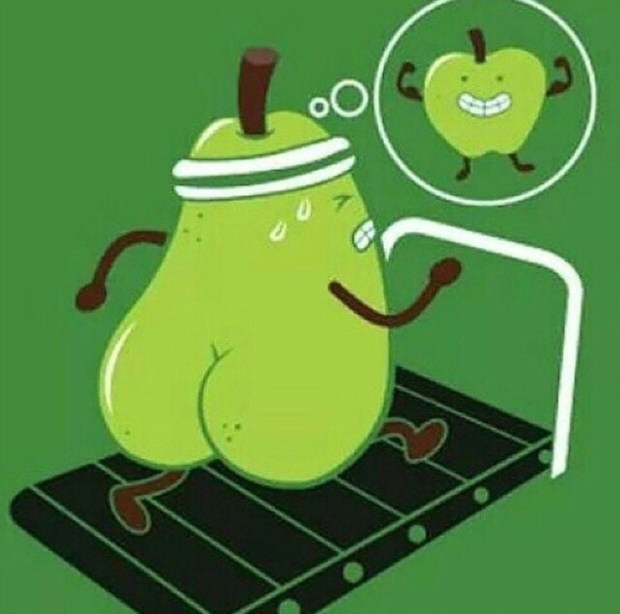 Getting rid of that pear shape