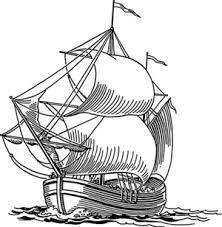 رسم نصف وجه بحث Google Sailing Ships Beach Ocean Art Boat Vector