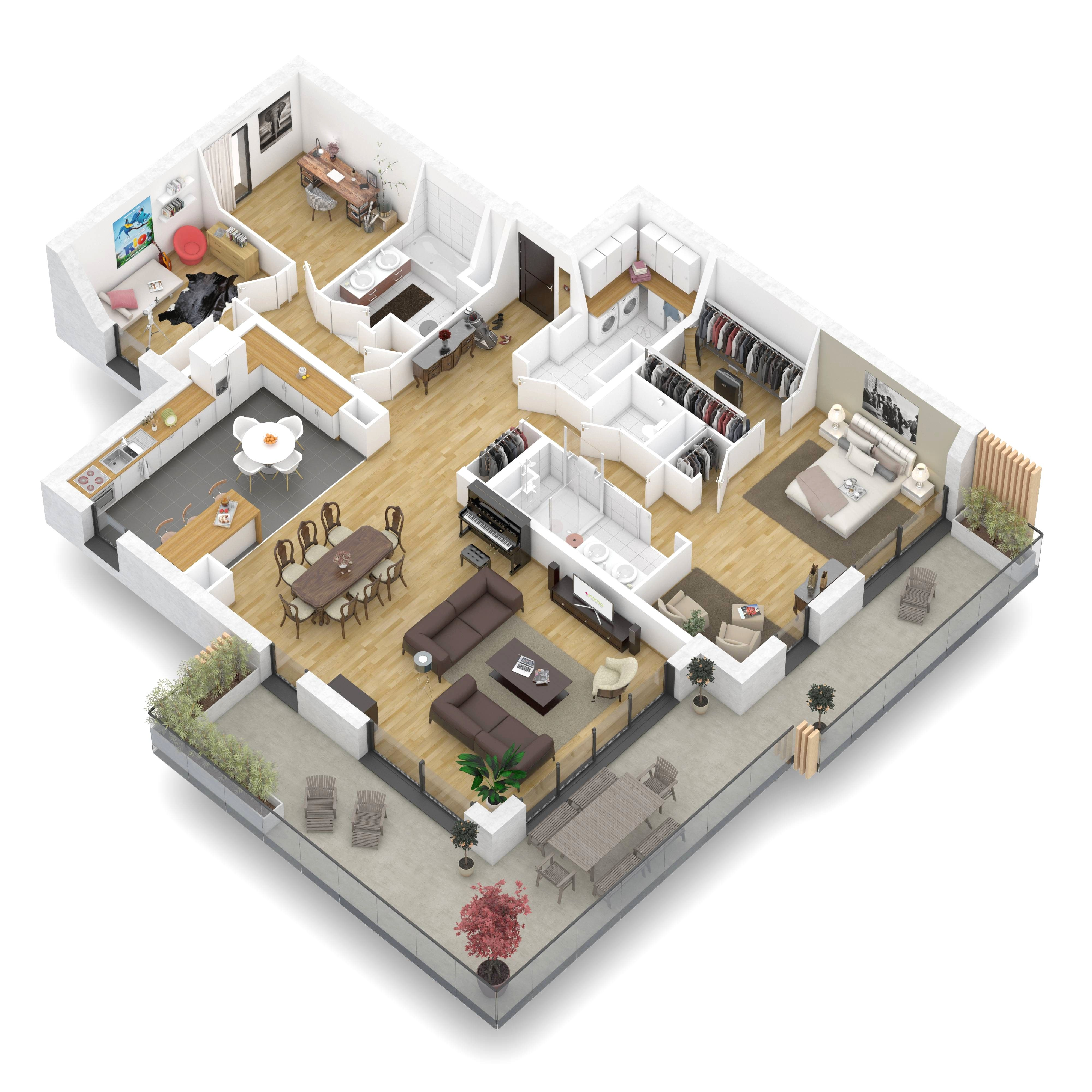 Epingle Sur Plan Maison