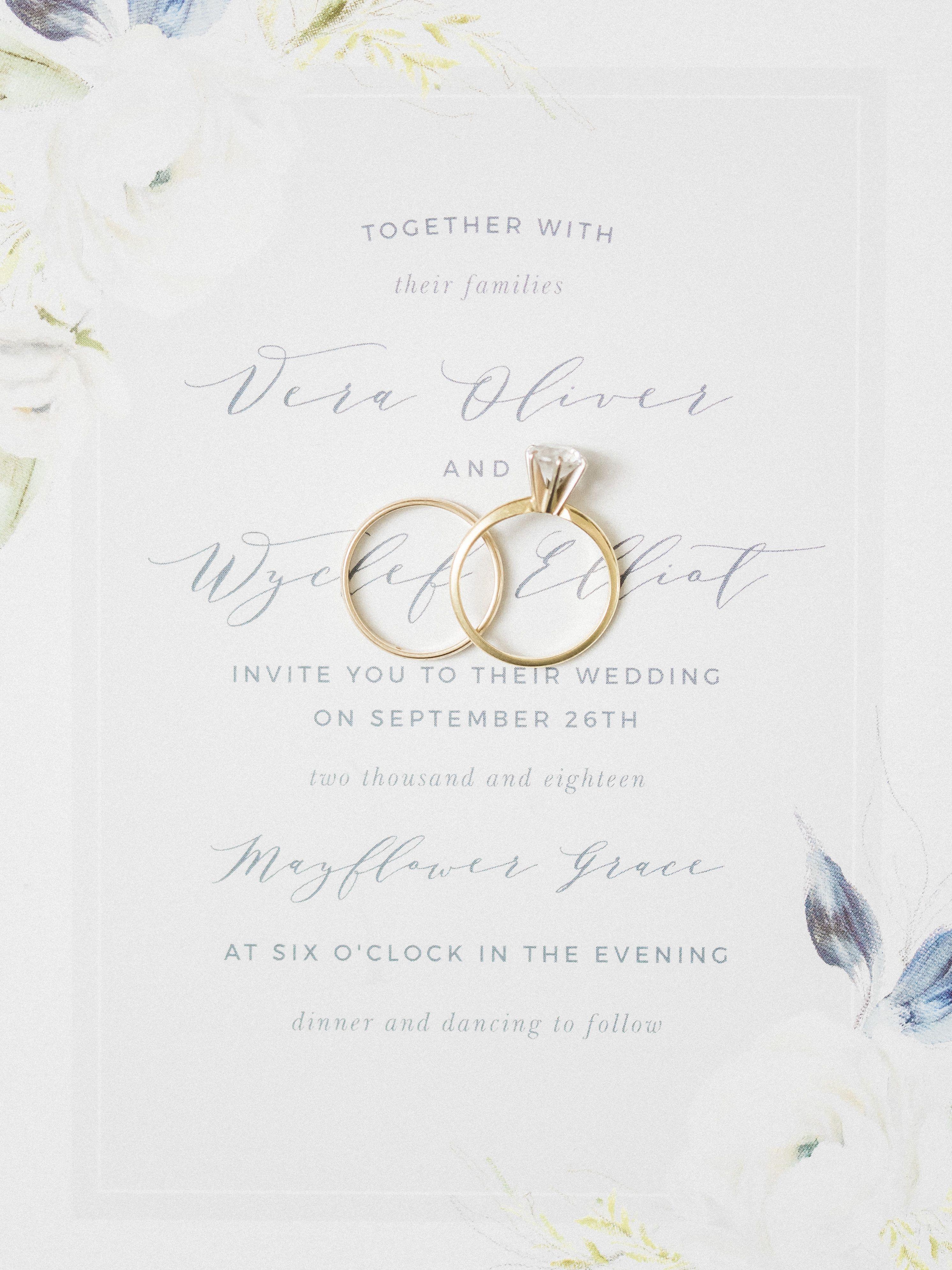 Oil Paint Textured Wedding Invitations Fun Wedding Invitations