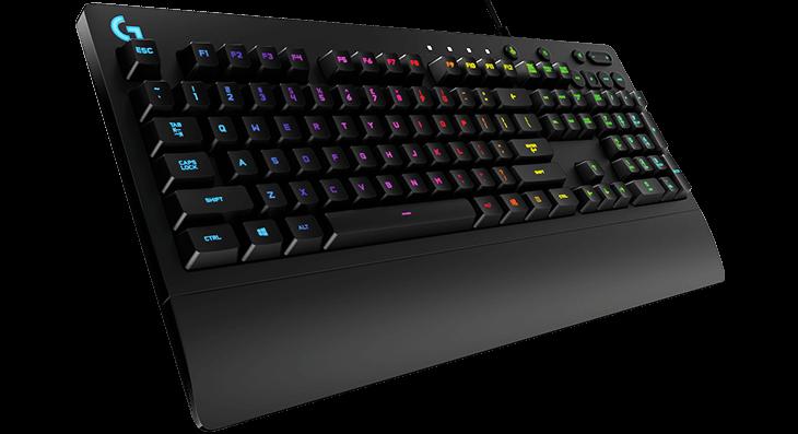 Logitech G213 Prodigy Gaming Keyboard With Rgb Lighting Anti Ghosting Logitech Keyboard Logitech Keyboard