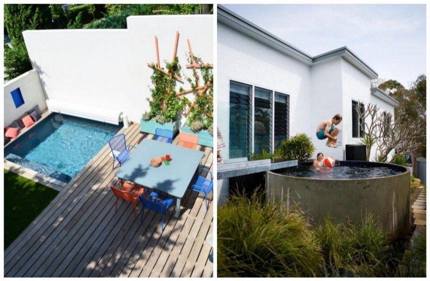 Une piscine dans un petit jardin  les solutions de propriétaires de