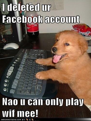 Deleted ur Facebook account