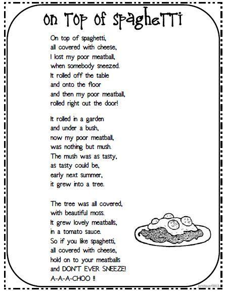 Funny Rhyming Poems : funny, rhyming, poems, Brinkmans, Blog:, Poems, Songs, Rhyming, Kids,, Funny, Poetry