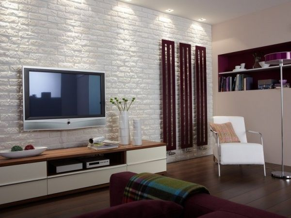 30 White Brick Wall Living Rooms That Inspire Your Design Creativity Part 39