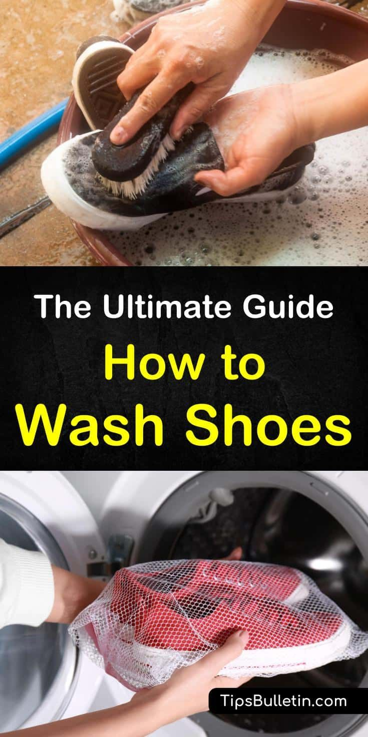 how to get yellow stains out of white shoes with baking soda
