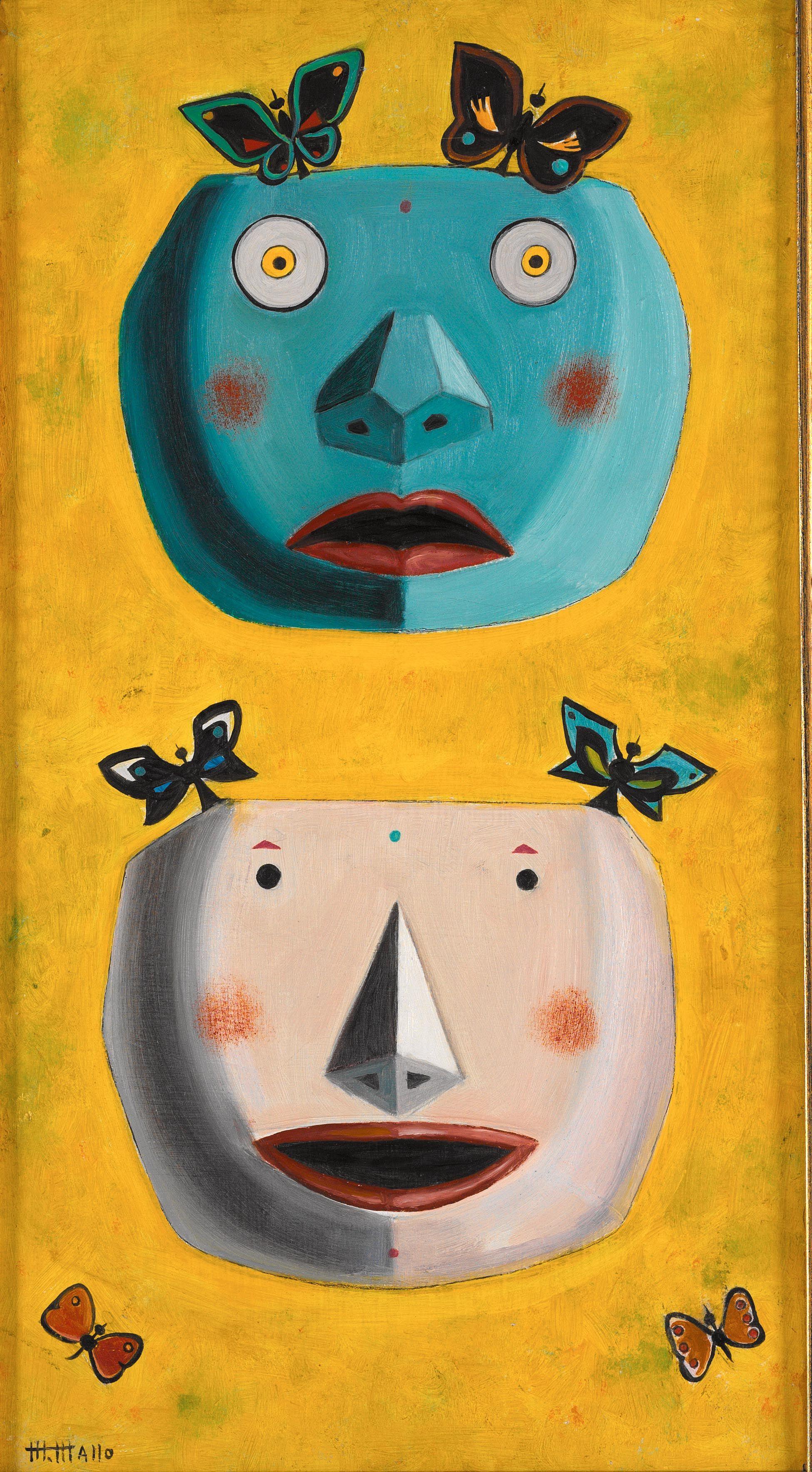 maruja mallo mascaras - Buscar con Google   Maruja Mallo   Pinterest