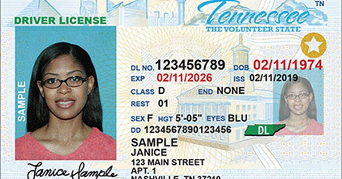 Tennessee Will Begin Issuing Real Id Driver Licenses On July 1 Drivers License Real Id Tennessee