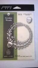 Memory Box Poppystamps Dies 1155 Grendon Wreath