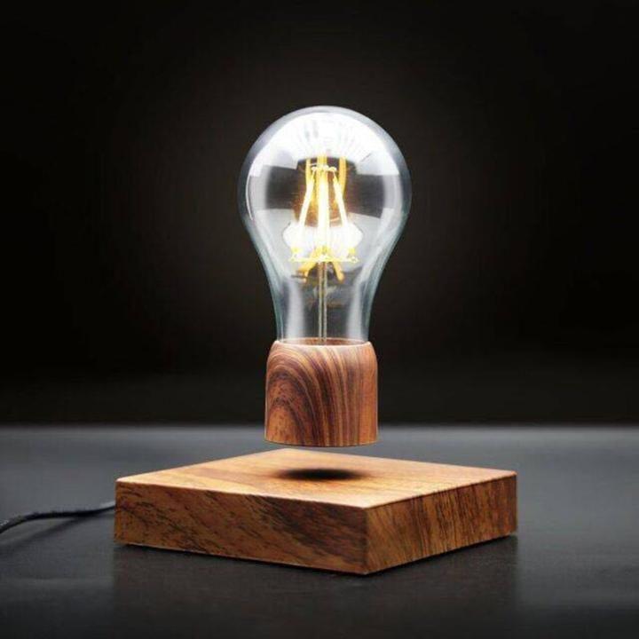 Levitation From Lns Technologies: Magnetic Levitating Wireless Bulb