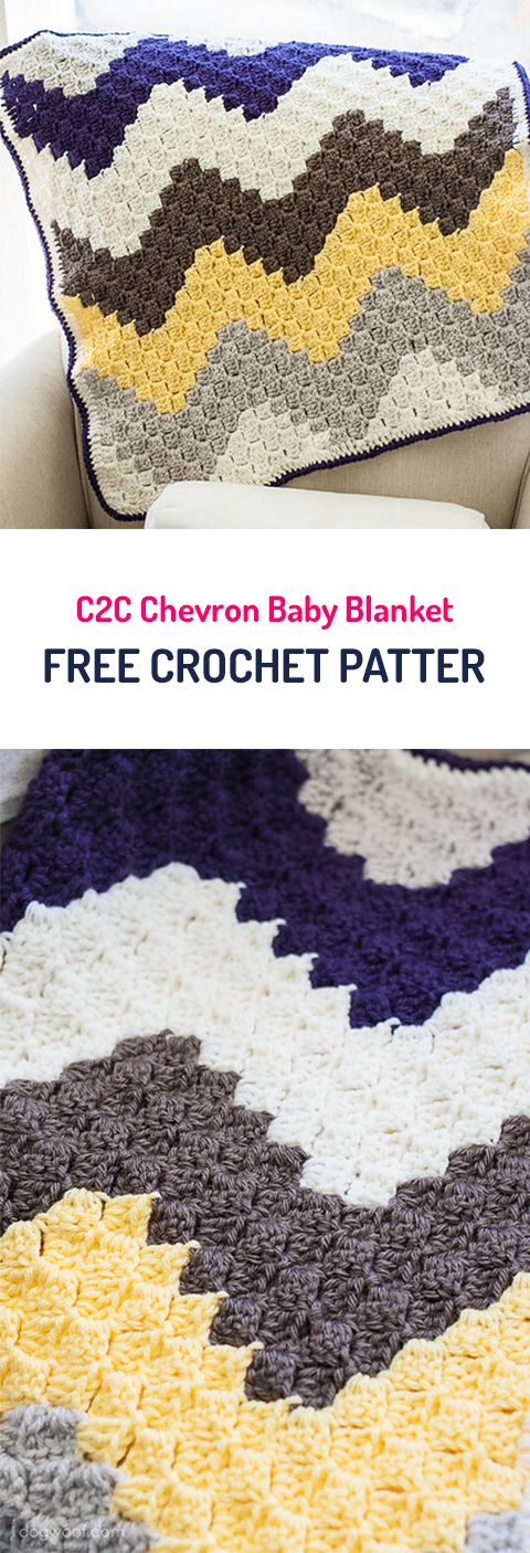 Chevron Baby Blanket   Crochet   Pinterest   Häkeln