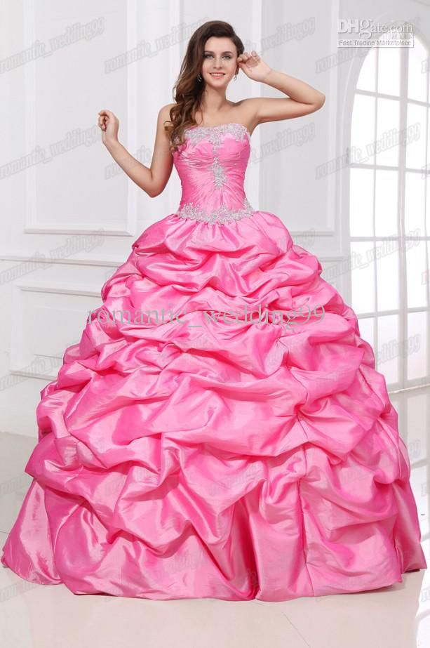 17 Best images about Fit for a Princess! on Pinterest | Pink gowns ...