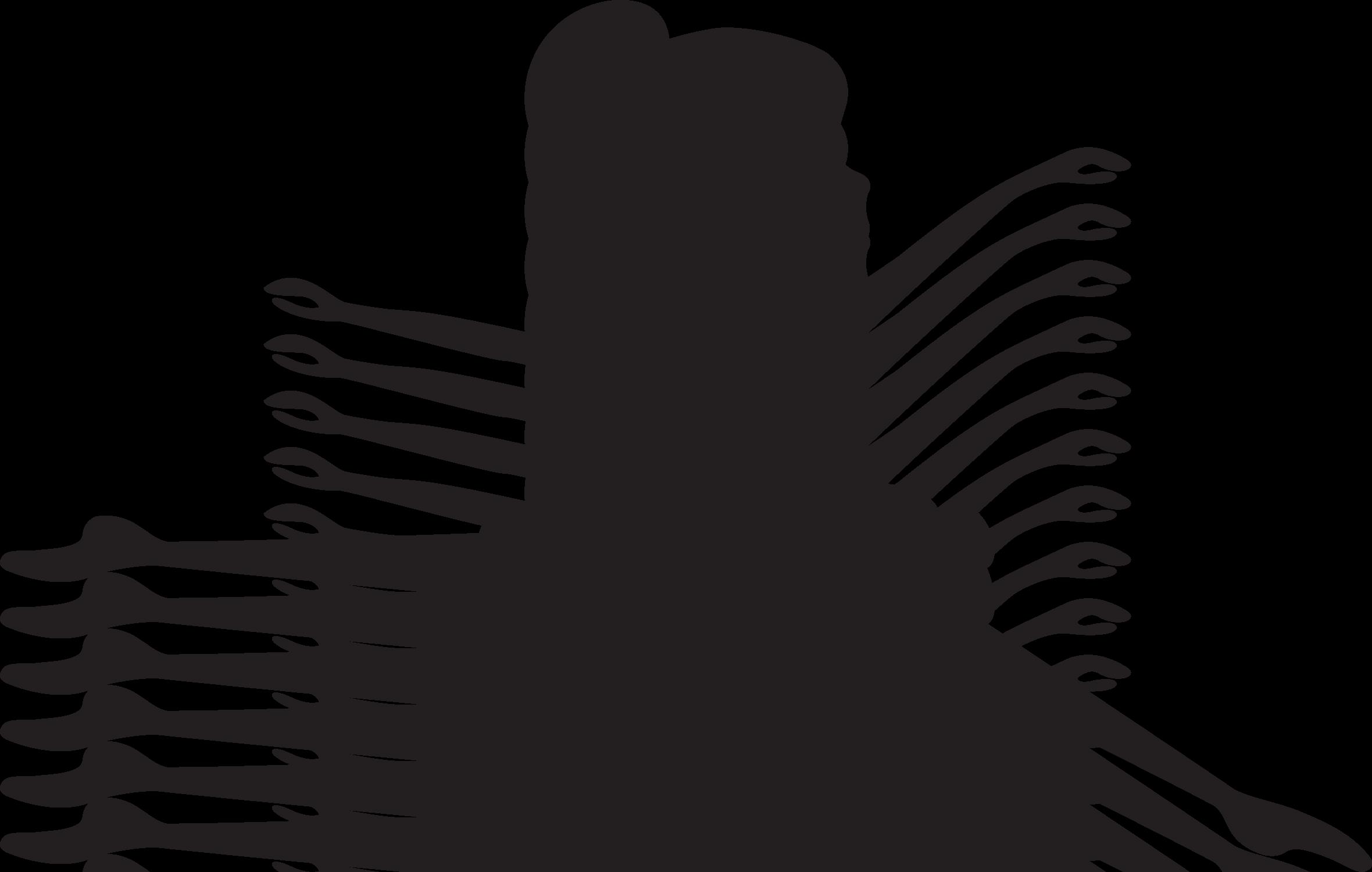 Шаблон балерины для открытки