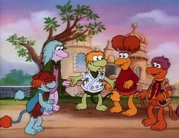 Fraggle Rock  The Animated Series   Pinterest   Childhood  80 s and     Fraggle Rock  The Animated Series   15 Cartoons From The  80s You Probably  Forgot Existed