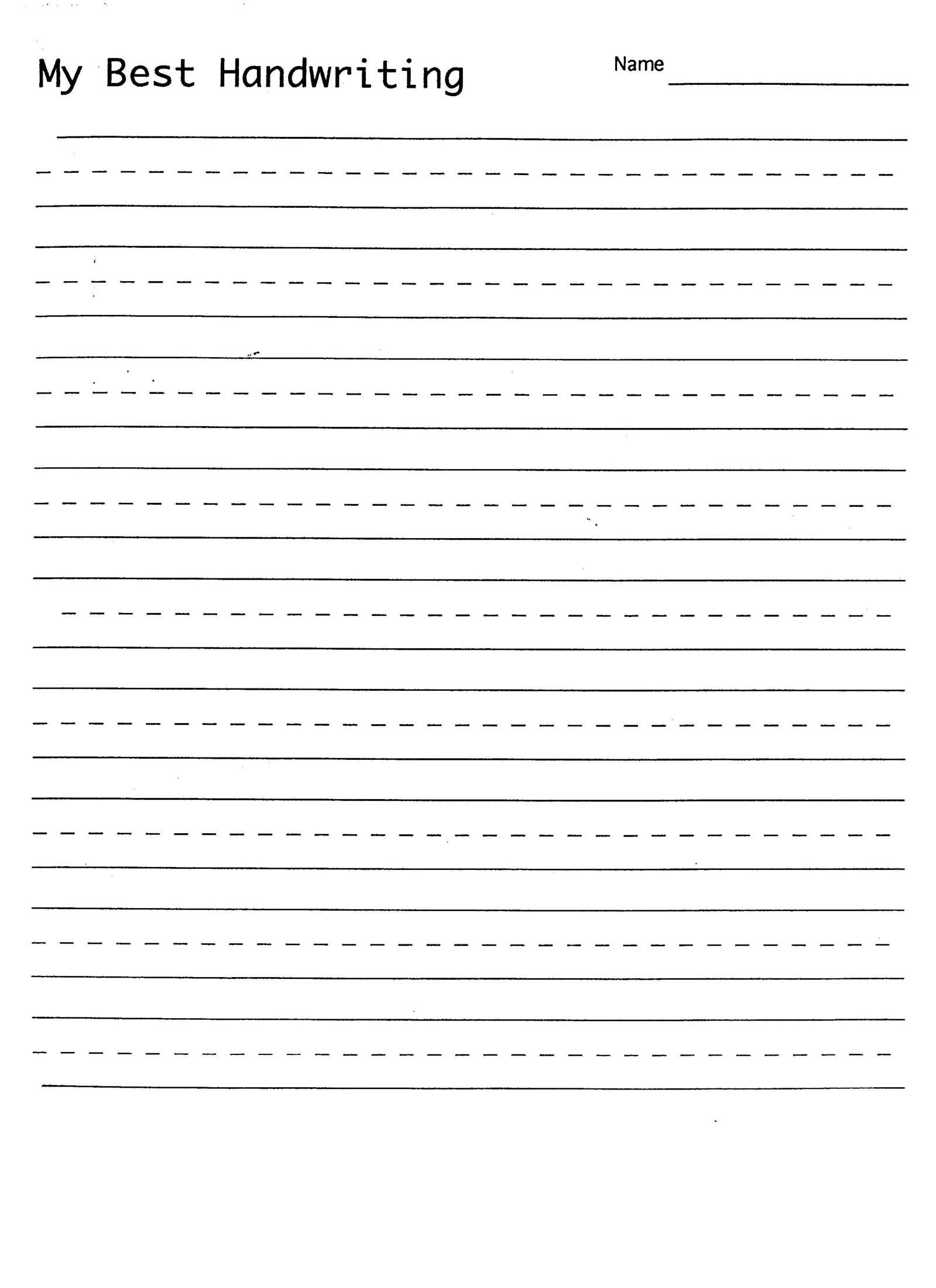 Best Printable Handwriting Sheets Activity Sh Koogra