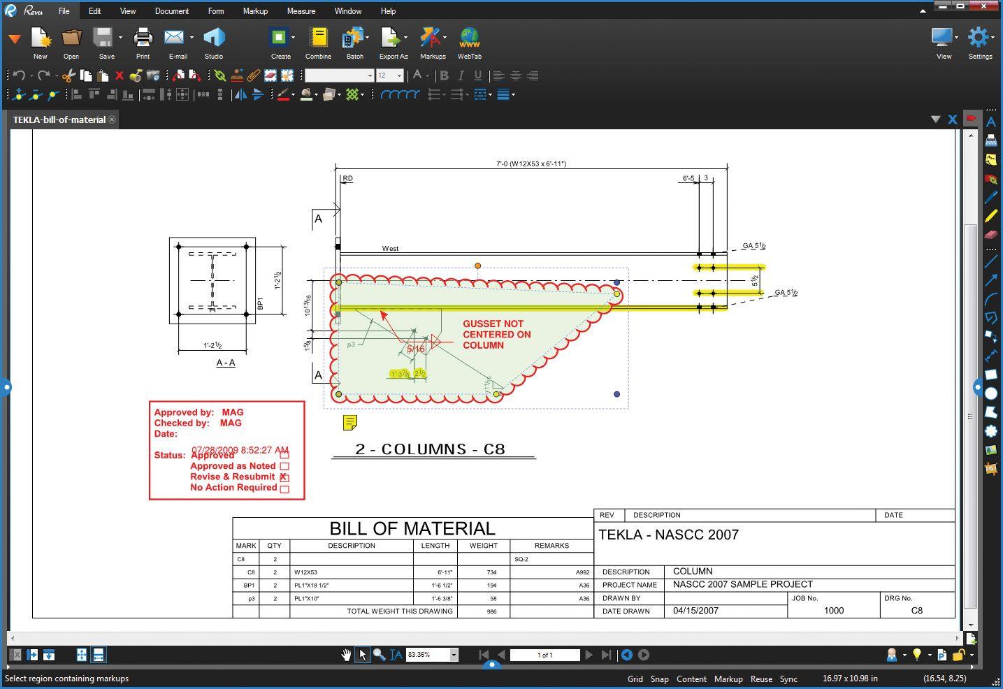 PDF floor plans with Bluebeam Revu  | Bluebeam Revu