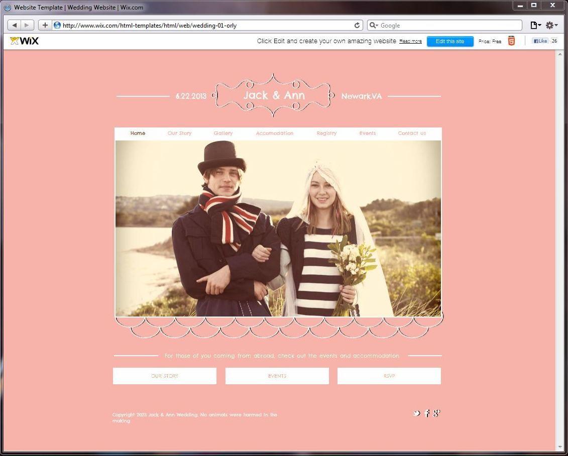 Wedding Website Website Template Wix Wedding Website Free Best Wedding Websites Wedding Website Template