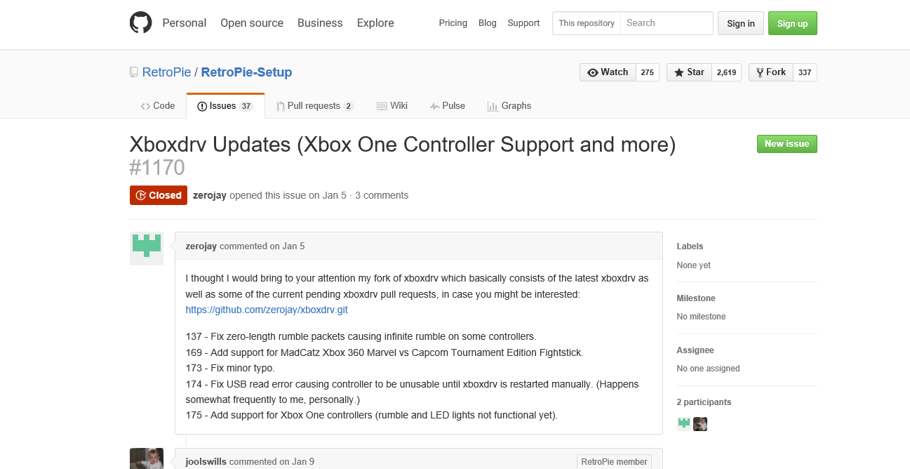 Xboxdrv Updates (Xbox One Controller Support and more)
