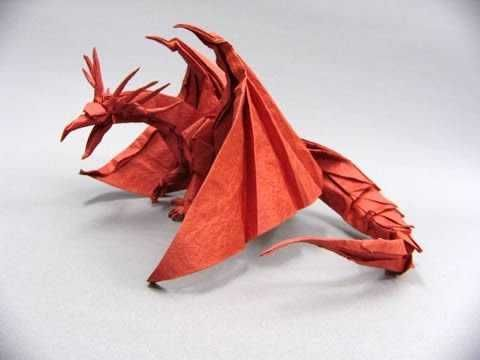 Ancient dragon origami tutorial (satoshi kamiya) youtube.