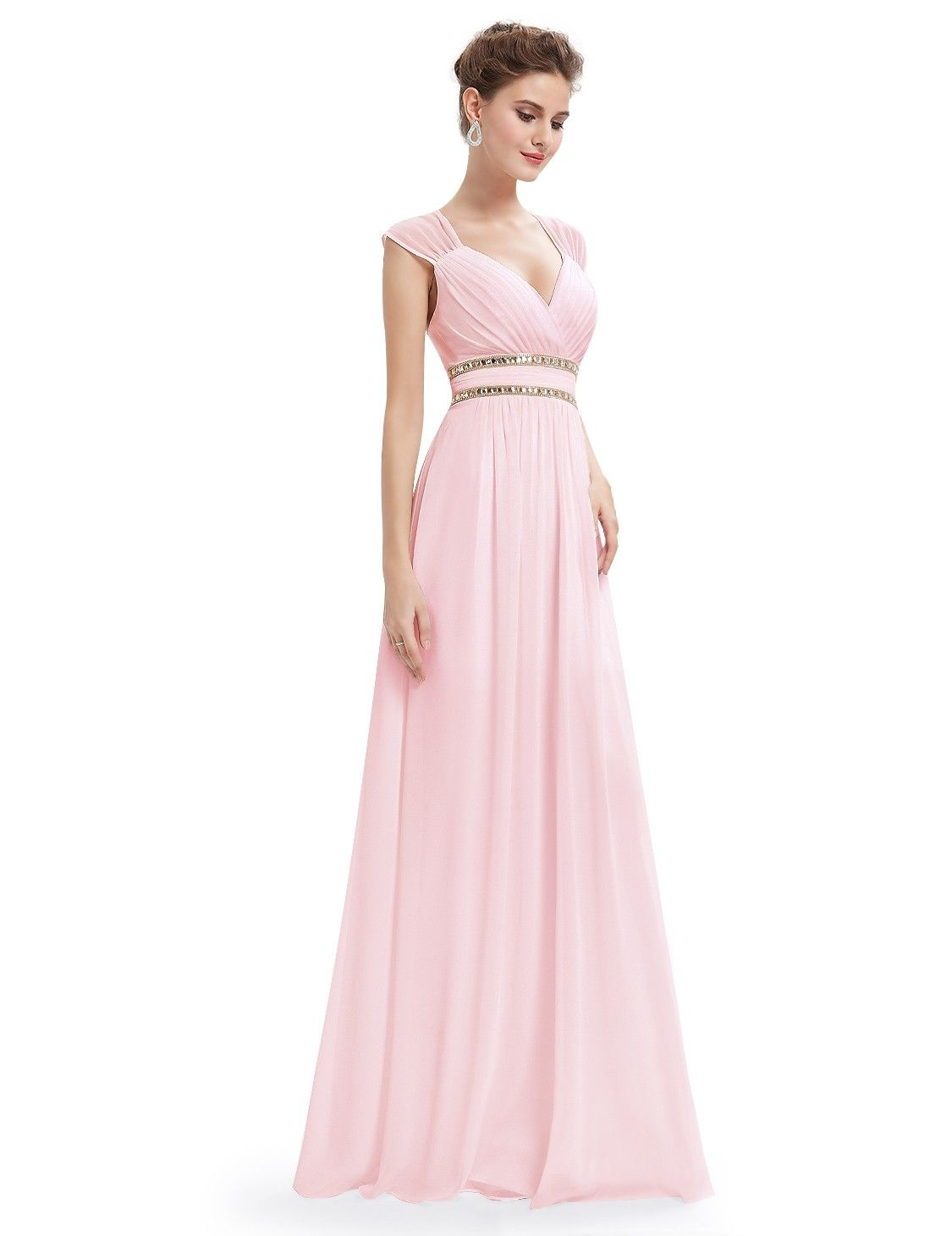 Sleeveless Grecian Style Evening Dress | Perfect prom dress, Grecian ...