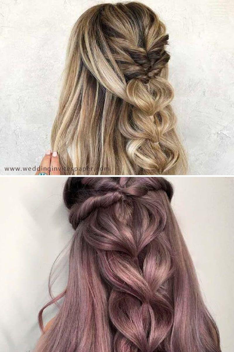 gorgeous complex braid  wedding hairstyles for long hair