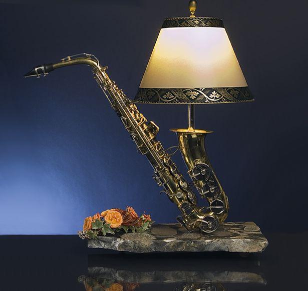 saxophone lampen in 2019 pinterest lampen saxophon und diy lampen. Black Bedroom Furniture Sets. Home Design Ideas