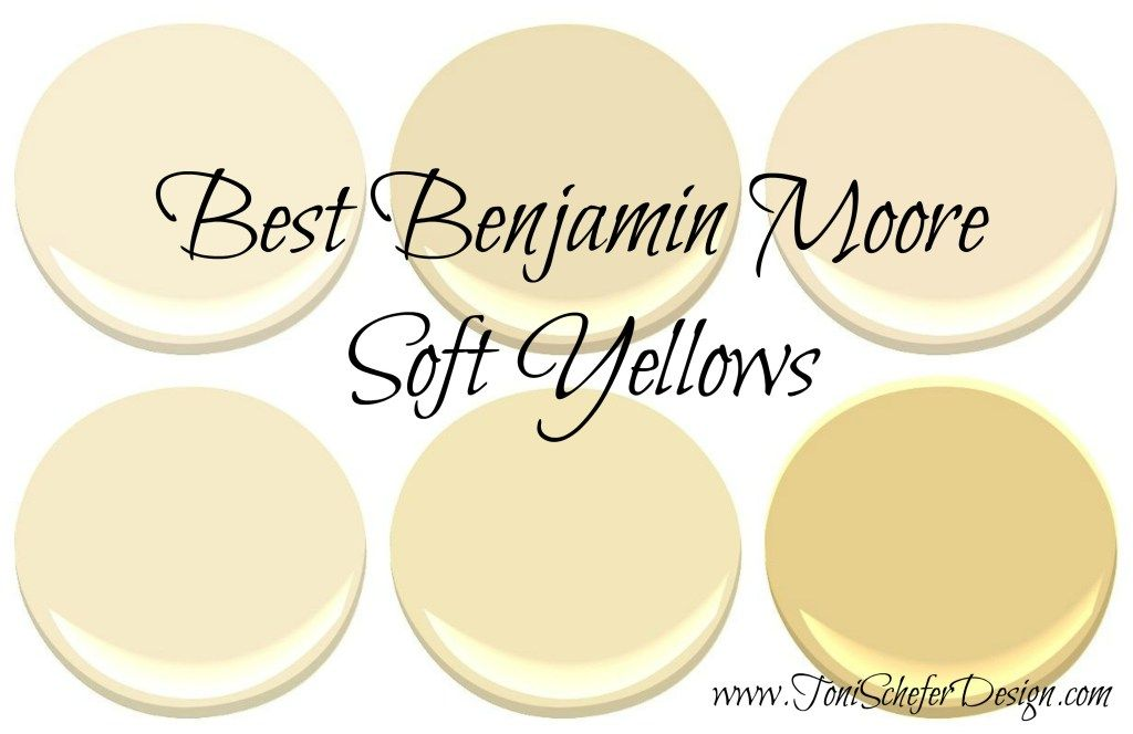 Best Benjamin Moore Soft Yellows Yellow Paint Benjamin Moore