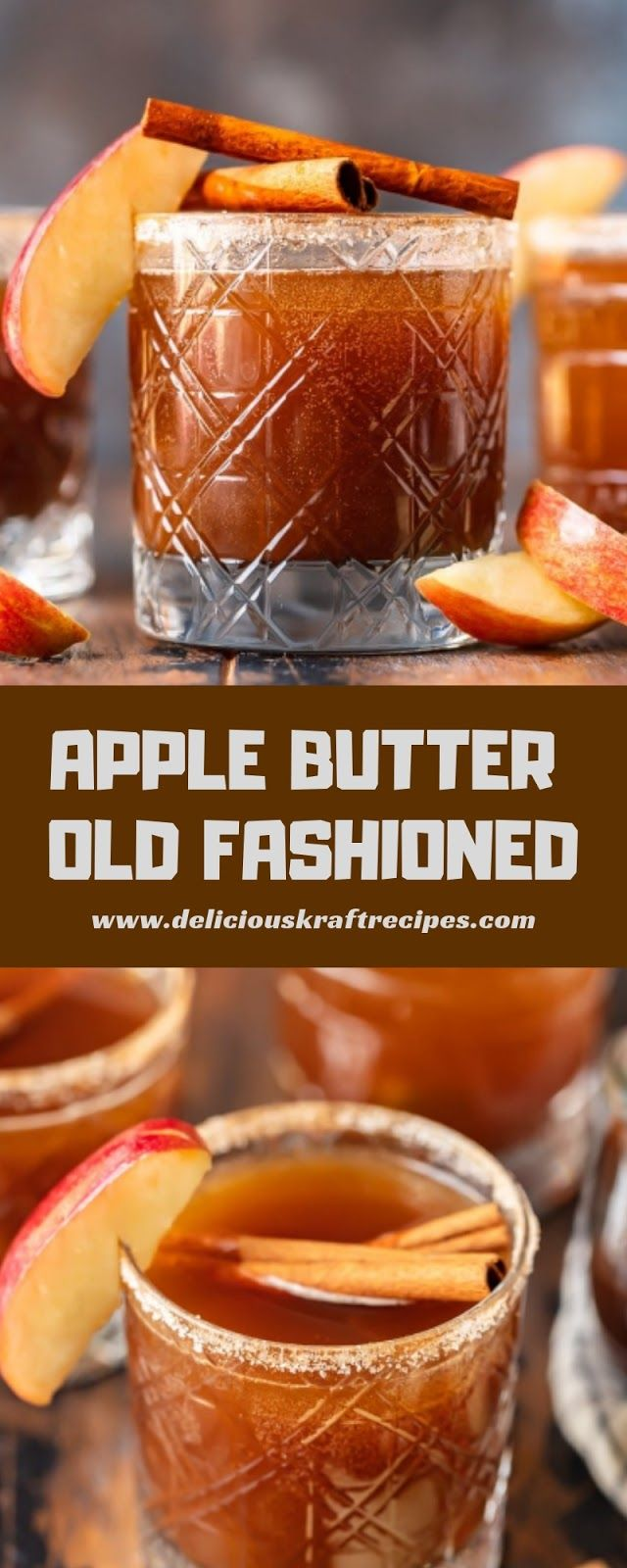APPLE BUTTER OLD FASHIONED in 2020 Apple butter, Old