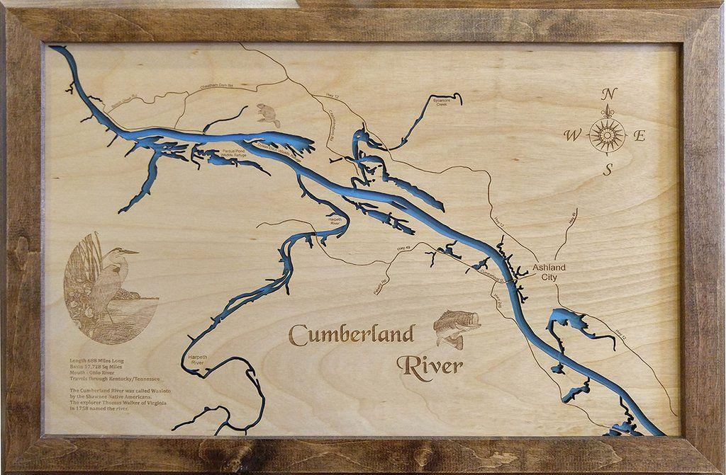 Cumberland River Ashland City in Kentucky