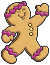 gingerbread man clip art gingerbread man printables pinterest rh pinterest co uk gingerbread man clipart outline gingerbread man clip art free