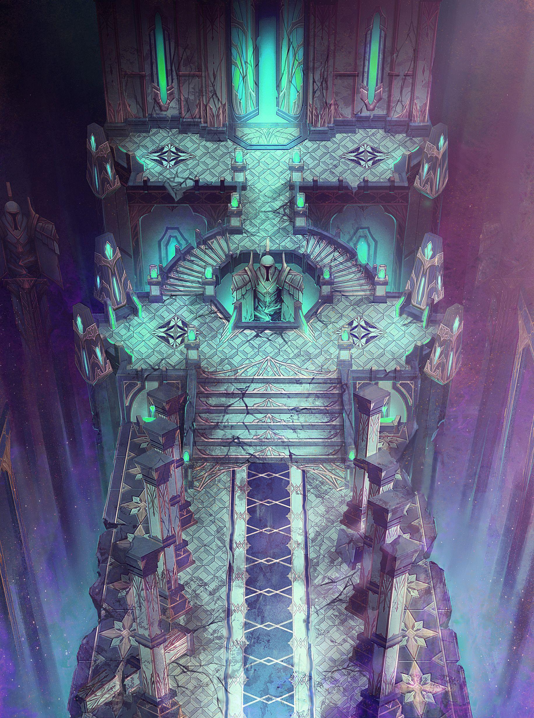 ArtStation - 'Blade' Concept Art - Theme04. Elysion(Temple of Light), Arthur Lee