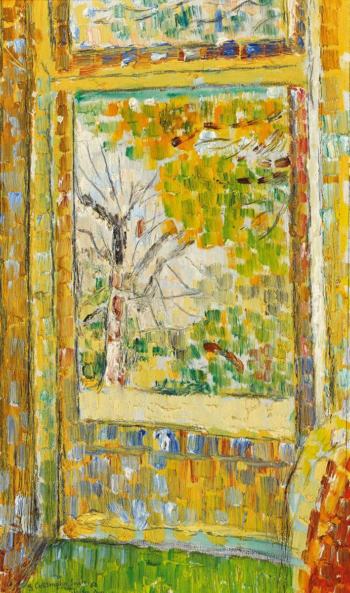GRACE COSSINGTON SMITH Studio Door 1968 Australian art
