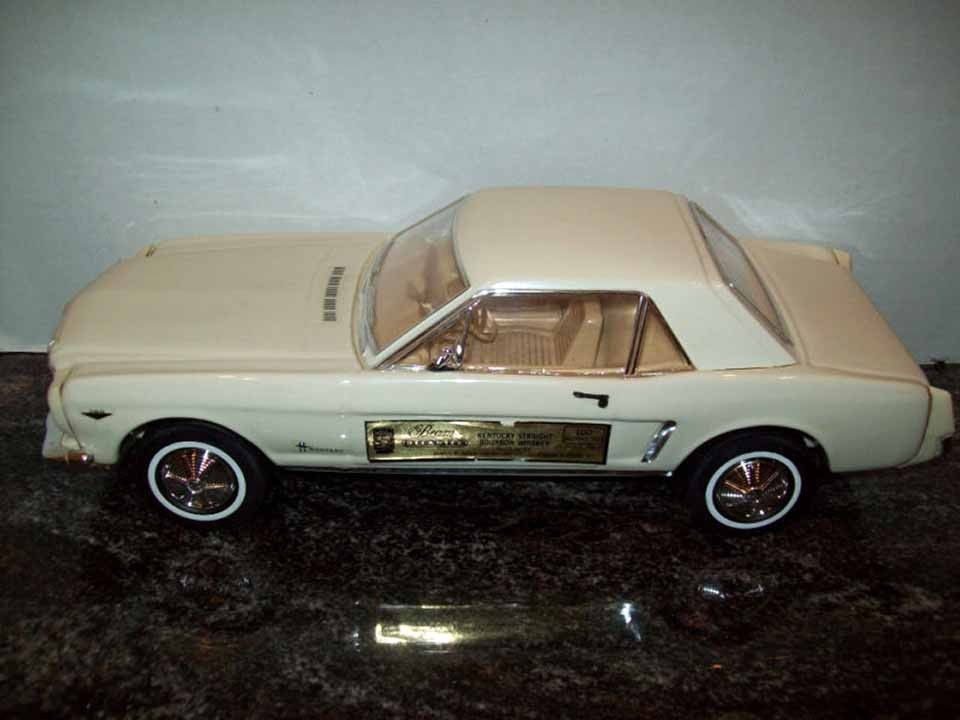 Jim Beam Decanter 1964 Ford Mustang Never Opened Jim